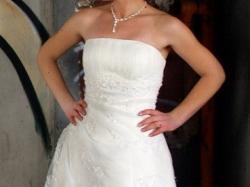 Piękna suknia ślubna Aspera 4320, rozmiar 36/38