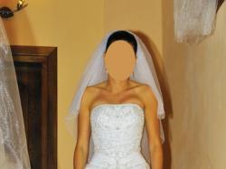 piękna suknia ślubna ASPERA preludia 4290 biała