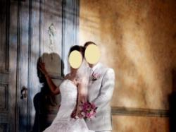 Piękna suknia ślubna Atelier Diagonal-Roz. 38