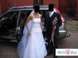 Piękna suknia ślubna - Bardzo tanio!!!