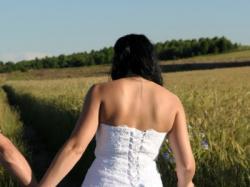 Piękna Suknia Ślubna Biała 38 - 40 Wyjątkowa!