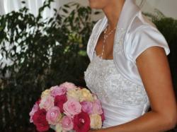 Piękna suknia ślubna + bolerko rozmiar 36/38!!!