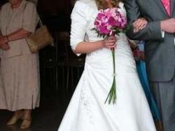 Piękna suknia ślubna Carmen