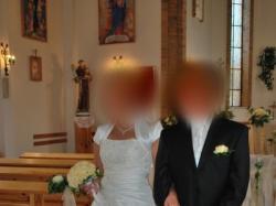 piękna suknia  ślubna, ceres, ecri