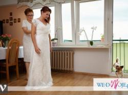 piekna suknia ślubna CYMBELINE GALA HIDAYA FADO