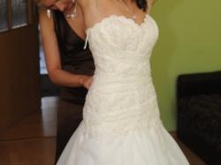Piękna suknia ślubna- Człuchów