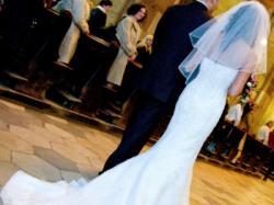 Piękna Suknia Ślubna Demetrios 1341 rozm 36 WROCŁAW