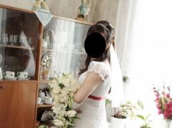 Piękna suknia ślubna dla Księżniczki (z gratisami) tylko 450 zł