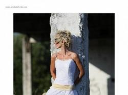 Piękna suknia ślubna dla nowoczesnej panny młodej
