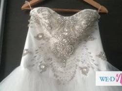 Piękna suknia ślubna do renowacji !!!