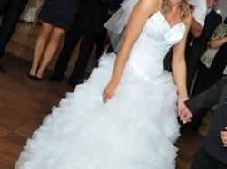 Piękna suknia ślubna+dodatki:)!!!