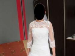 Piękna suknia ślubna +dodatki -- TANIO!!!!