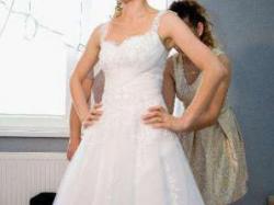 Piękna Suknia ślubna DUBER roz. 36