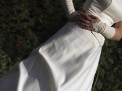 piekna suknia slubna ecru rozm.36-38