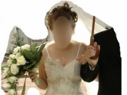 Piękna suknia ślubna ecru z salonu!!!