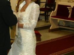 PIEKNA SUKNIA SLUBNA - ELIZABETH-2008