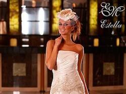 Piękna suknia ślubna Estella/Emmi Mariage biała, rozmiar 40
