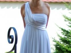 Piękna suknia ślubna firmy Biancaneve projektu Małgorzaty Dudek