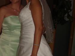 Piękna Suknia Ślubna firmy Sincerity (kolekcja 2008)