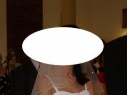 Piękna suknia ślubna GINA, nagrodzona podczas Targów Ślubnych