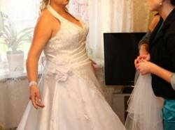 piękna suknia ślubna + gratisy