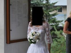 Piękna suknia ślubna - H I S Z P A N K A !!!