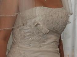 Piękna suknia ślubna Herm's