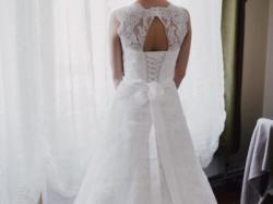Piękna suknia ślubna Herm's Bridal (herms bridal) rozmiar 38