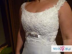 Piękna suknia slubna HERMS DELORI