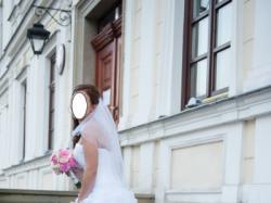 Piękna suknia ślubna - hiszpanka