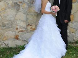 Piękna suknia ślubna hiszpanka rozmiar 36