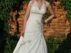 Piękna suknia ślubna!Indywidualny projekt!Jedyna!