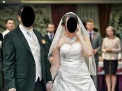 Piekna suknia ślubna jak mori lee