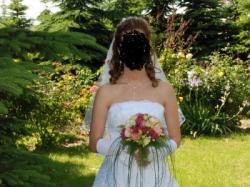 Piękna suknia ślubna jak z bajki!!!