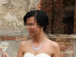 Piękna Suknia Ślubna - kolor Ecru !!! + bolerko