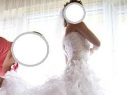 Piękna suknia ślubna Lanerika firmy Karina