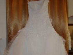 "piekna suknia ślubna ""lucie"" + welon"