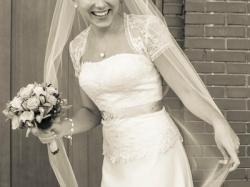 Piękna suknia ślubna Maggio Ramatti M, fason w literę A, jak nowa OKAZJA