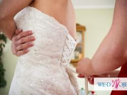 Piękna Suknia Ślubna Marie