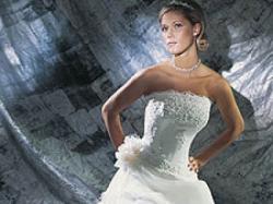 Piękna suknia ślubna model cosmobella 7151