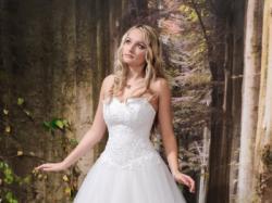 Piękna Suknia ślubna, model Kinga, biała,  rozm. 36, 170 cm+ obcas