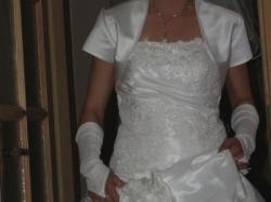Piękna suknia ślubna .. Ms Moda - roz 36 / 38