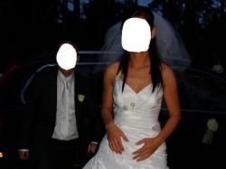 piekna suknia slubna MsModa w rozmarze 38-40