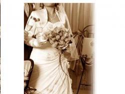 PIĘKNA suknia ślubna na NISKĄ OSOBĘ