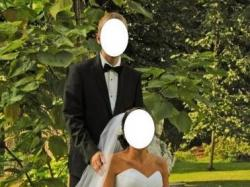 Piękna suknia ślubna najnowszy model hiszpański