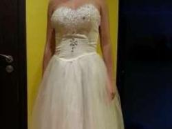 Piękna suknia ślubna NOWA! rozm. 38