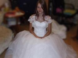Piękna suknia ślubna Okazja