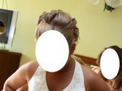 Piękna suknia ślubna-okazja !