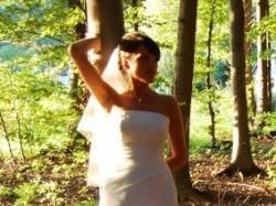 Piękna suknia slubna okazja