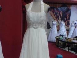 Piękna suknia ślubna Poeme firmy Karina + dodatki